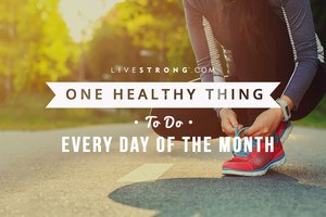 One Healthy Thing to Do Every Day of the Month