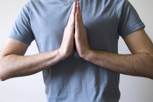 Position of Hands & Fingers During Meditation