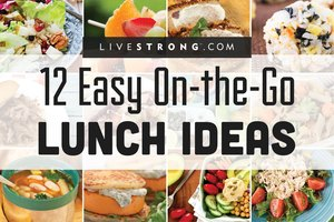 12 Easy On-the-Go Lunch Ideas
