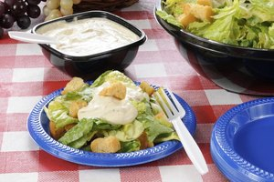 How Many Calories Are in Ranch Salad Dressing?