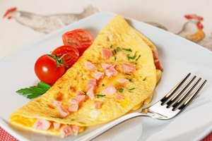 Nutrition Facts for a Ham & Cheese Omelet