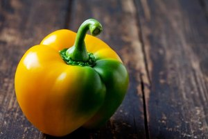 The Nutrition Profile for a Yellow Bell Pepper
