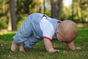 Gross Motor Play Activities for Infants