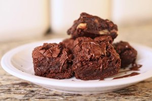 Low-Sugar Hershey Cocoa Brownie Recipe
