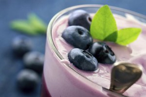 Are Yogurt & Blueberries Good for You?