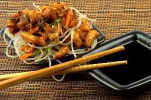 Calories in Chinese Food: Chicken Teriyaki