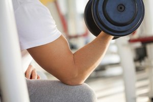 How to Properly Use a Dumbbell When Sitting Down