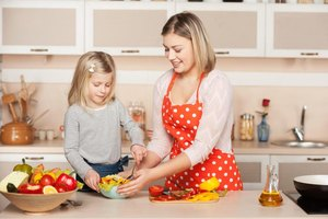 The Benefits of Cooking With Children