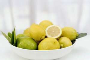 Nutrition Benefits of Lemons