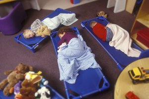 How to Help a Child Adjust to Sleeping at Daycare