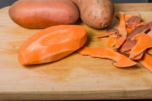 How to Cook Sweet Potatoes After Peeling