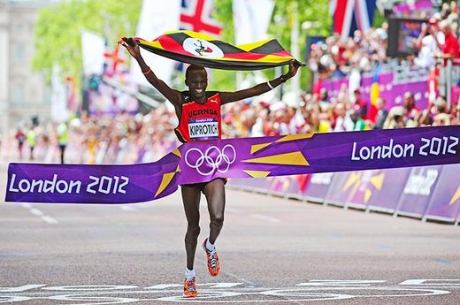 #13. A Marathon Surprise from Uganda's Stephen Kiprotich