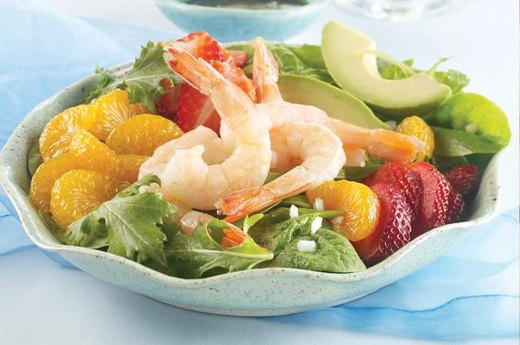 23. Fruity Shrimp Salad
