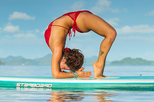8. Hollow Back Wheel (Hollow Back Chakrasana)