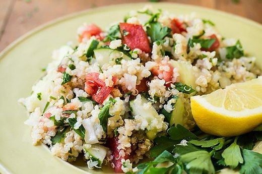 Quickie Quinoa Summer Salad