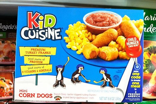 7. WORST: Kid Cuisine Carnival Mini Corn Dog Meal
