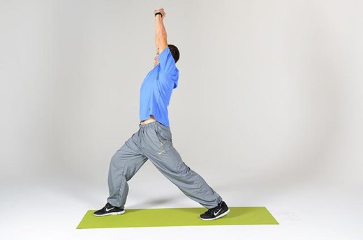 Lunge Stretch (Part Two)