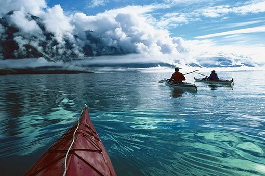5. Best Park for a Paddle: Glacier Bay National Park, Alaska