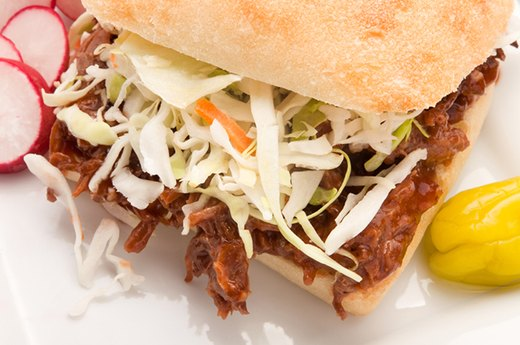 6. Vietnamese-Style Pulled Pork Sandwiches