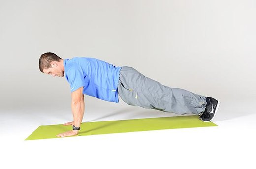 Circuit B Move #4: Negative Push-ups (Part One)