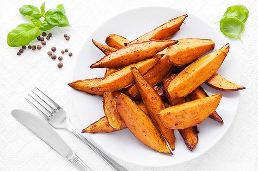 10. Baked Sweet Potato Fries