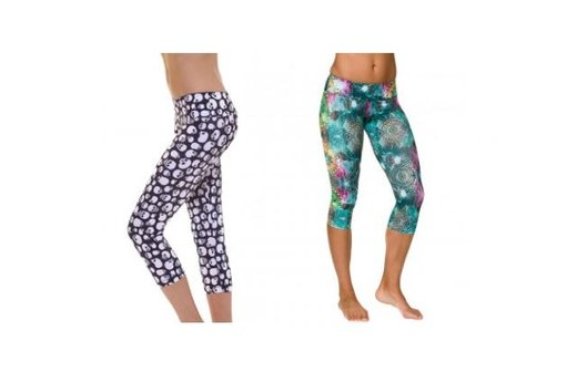 9. Onzie Capri Pants - All Different Patterns