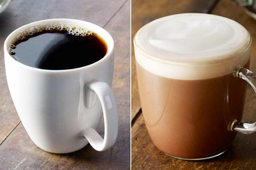 9. Starbucks: Brewed Coffee With Non-Fat Milk