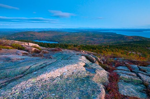 8. Best Park to Leaf Peep: Acadia National Park, Maine