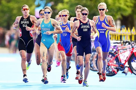 #9. A Photo Finish in The Women's Triathlon Goes to Court
