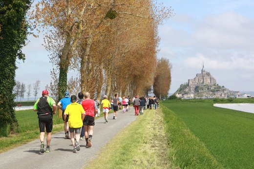 19. Mont Saint-Michel Marathon (May)