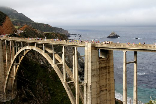 9. Big Sur International Marathon (April)