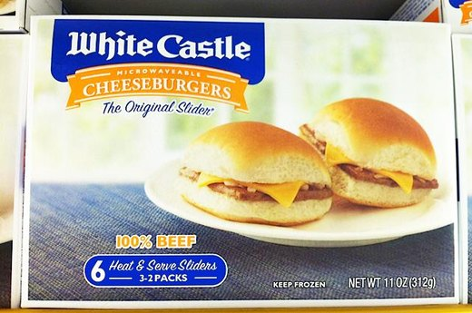 9. WORST: White Castle Cheese Burgers