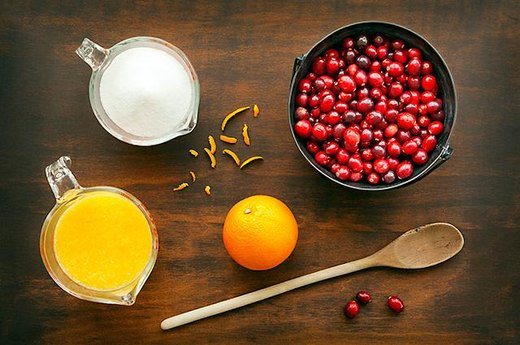 1. CRANBERRIES: Cranberry Orange Relish