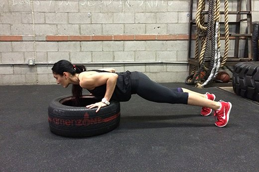 3. Incline Push-Ups