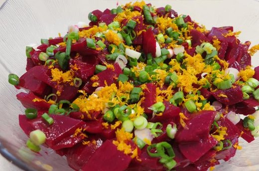 11. Orange-Scented Beet Salad