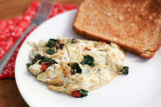 Power Up With a Veggie Omelet