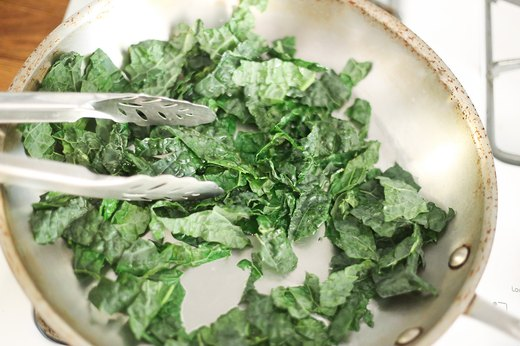 Start Meals With Seasoned Kale