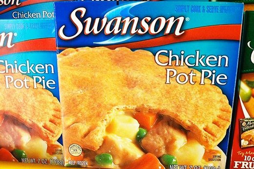 11. WORST: Swanson's Chicken Pot Pie