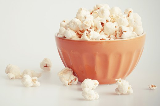 8. POPCORN:  Natural Instead of Artificial Flavoring