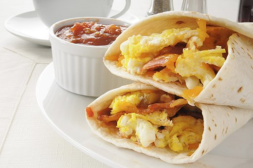 Tips to Meet Your Protein Needs: Swap Breakfast Pastries for Burritos