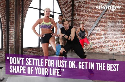 "12. ""Don't Settle for Just OK. Get in the Best Shape of Your Life."""