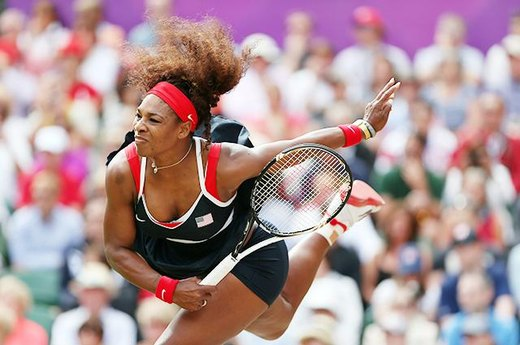#17. Serena Williams Dominates in Women's Tennis
