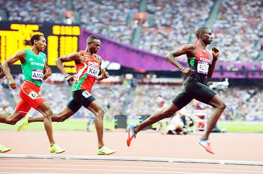 #8. David Rudisha's 800-Meter World Record