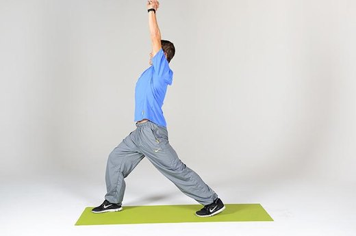 Circuit A Move #2: Lunge Stretch (Part One)