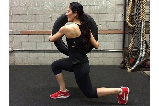 5. Lunges With Twist