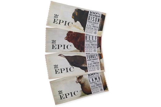 10. Epic 100 Percent Grass-Fed Animal-Based Protein Bars