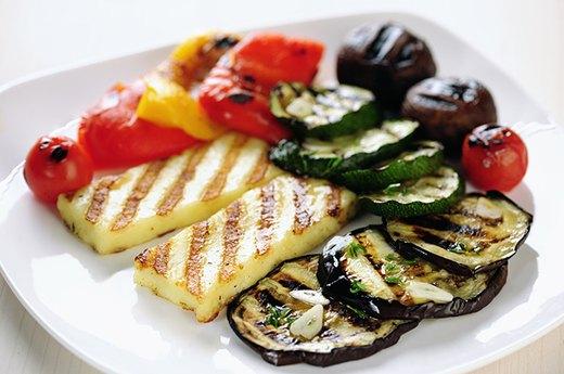 15. Grilled Marinated Vegetables