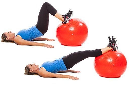 Total-Body Blast Stability Ball Workout | LIVESTRONG.COM