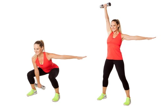 EXERCISE 3: Dumbbell Snatches - 2 Rounds, One per Side