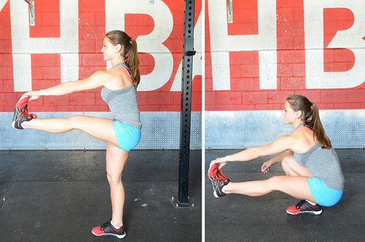 14. The Pistol Squat